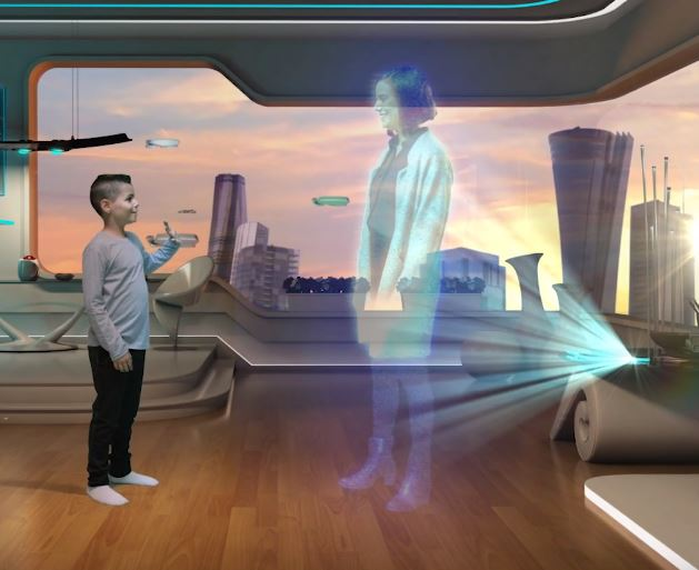 מיצג-עתידנות-של-תעשייה-אווירית- וידאו הד