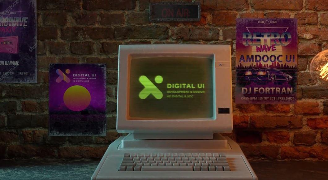 סרטון תדמית למללקת ה UI של חברת אמדוקס